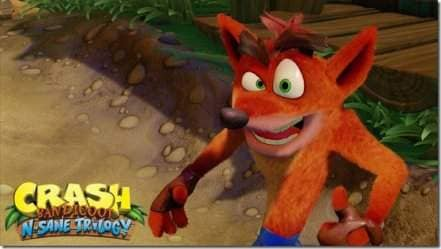 Логотип Crash Bandicoot N. Sane Trilogy