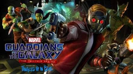 Логотип Guardians of the Galaxy: The Telltale Series