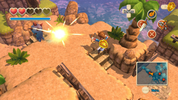 Скриншоты из Oceanhorn Monster of the Uncharted Seas