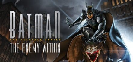 Логотип Batman The Enemy Within