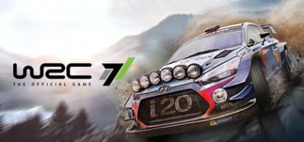 Логотип WRC 7 FIA World Rally Championship