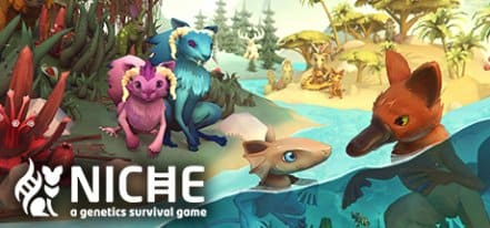 Логотип Niche - a genetics survival game