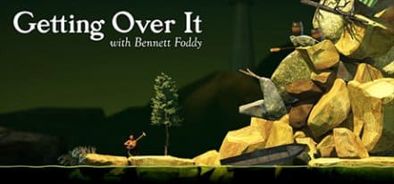 Логотип Getting Over It with Bennett Foddy