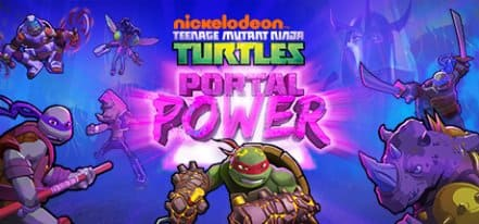 Логотип Teenage Mutant Ninja Turtles Portal Power