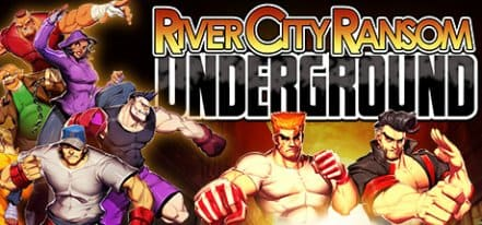 Логотип River City Ransom Underground