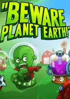 Постер Beware Planet Earth