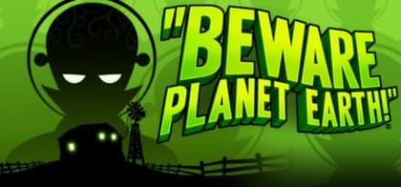 Логотип Beware Planet Earth