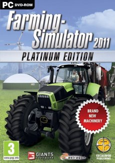 Постер Farming Simulator 2011 Platinum Edition