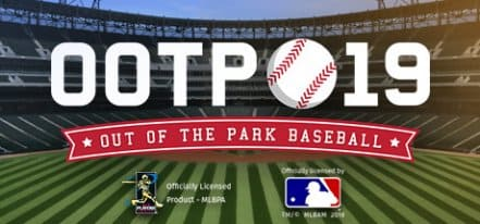 Логотип Out of the Park Baseball 19