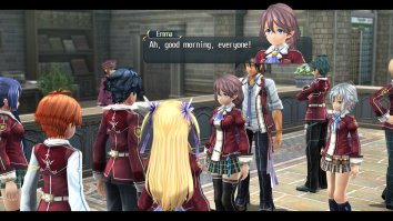 Скриншоты из The Legend of Heroes Trails of Cold Steel 2