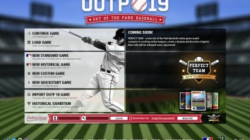 Скриншоты из Out of the Park Baseball 19