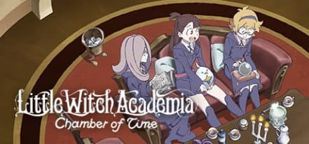 Логотип Little Witch Academia Chamber of Time