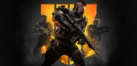 Логотип Call of Duty Black Ops 4