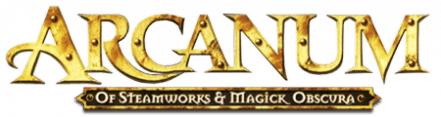 Логотип Arcanum Of Steamworks and Magick Obscura