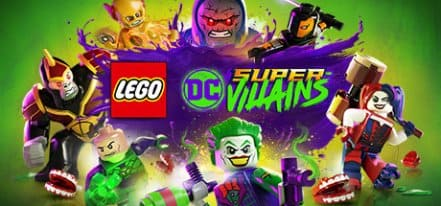 Логотип LEGO DC Super-Villains