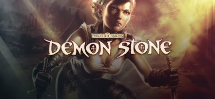 Логотип Forgotten Realms Demon Stone