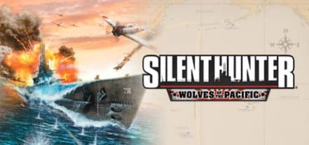 Логотип Silent Hunter 4: Wolves of the Pacific