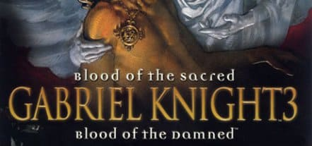 Логотип Gabriel Knight 3: Blood of the Sacred, Blood of the Damned