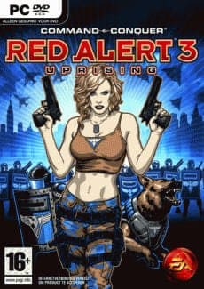 Постер Command and Conquer: Red Alert 3 — Uprising
