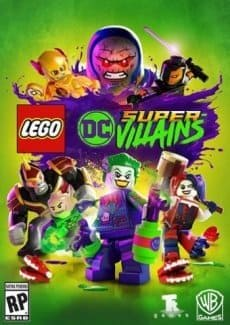 Постер LEGO DC Super-Villains