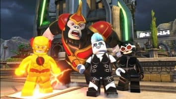 Скриншот второй из LEGO DC Super-Villains
