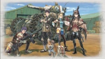 Скриншот второй из Valkyria Chronicles 4
