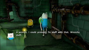 Скриншот первый из Adventure Time: Finn and Jake Investigations