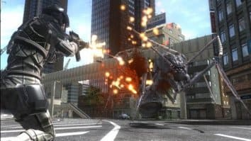 Скриншот четвёртый из EARTH DEFENSE FORCE 4.1 The Shadow of New Despair