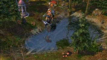 Скриншот второй из Heroes of Might and Magic V: Повелители Орды