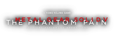 Логотип Metal Gear Solid V: The Phantom Pain