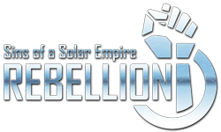 Логотип Sins of a Solar Empire - Rebellion