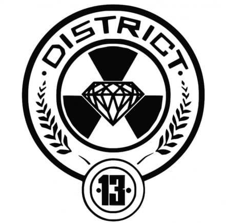 Логотип The District