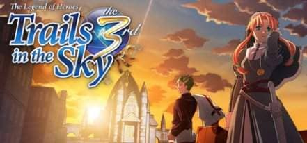 Логотип The Legend of Heroes Trails in the Sky the 3rd