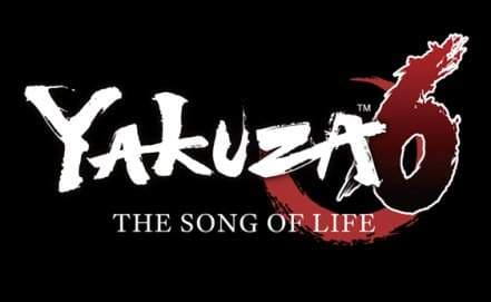 Логотип Yakuza 6: The Song of Life