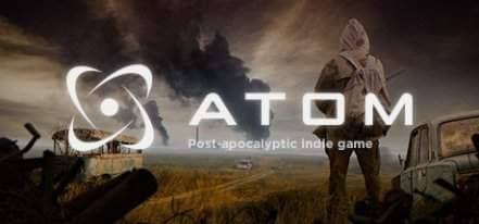 Логотип ATOM RPG Post-apocalyptic indie game