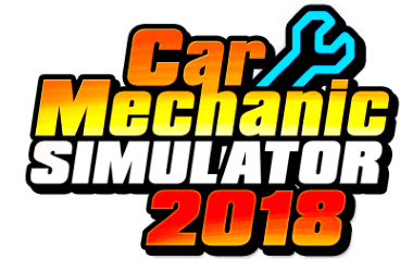 Логотип Car Mechanic Simulator 2018