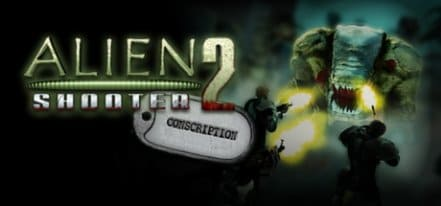 Логотип Alien Shooter 2 Conscription