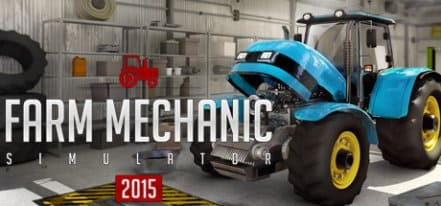 Логотип Farm Mechanic Simulator 2015