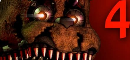 Логотип Five Nights at Freddy's 4