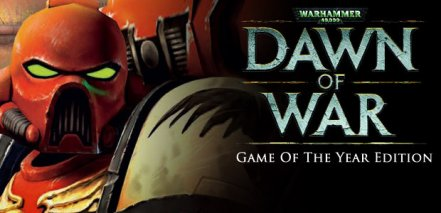 Логотип Warhammer 40000 Dawn of War