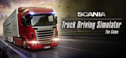 Логотип Scania Truck Driving Simulator - The Game