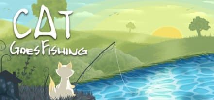 Логотип Cat Goes Fishing