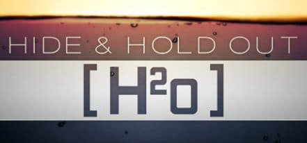Логотип Hide and Hold Out H2o