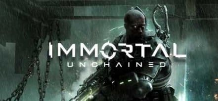 Логотип Immortal Unchained