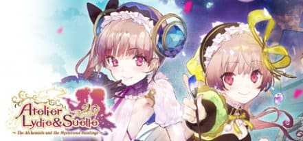 Логотип Atelier Lydie and Suelle The Alchemists and the Mysterious Paintings