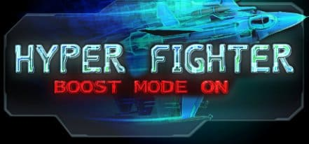Логотип HyperFighter Boost Mode ON