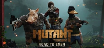 Логотип Mutant Year Zero Road to Eden