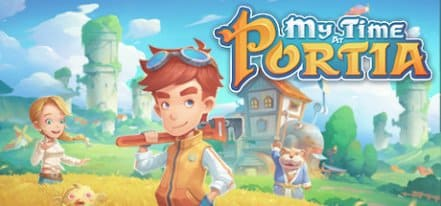 Логотип My Time At Portia