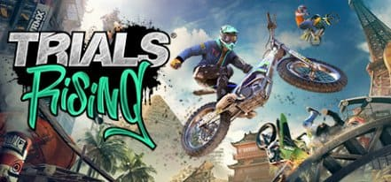 Логотип Trials Rising
