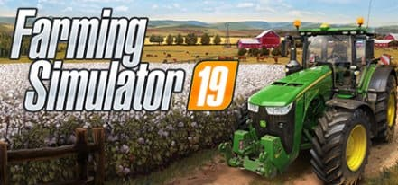 Логотип Farming Simulator 19